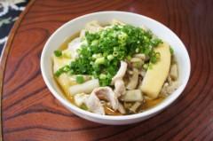 川島けん 公式ブログ/[Lunch]肉玉うどん 画像1