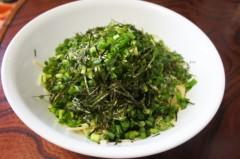 川島けん 公式ブログ/[Lunch]小ネギ白菜ホタテパスタ 画像1