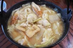 川島けん 公式ブログ/[Lunch]鶏団子味噌煮込みうどん。 画像2