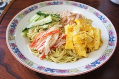 川島けん 公式ブログ/[Lunch]カニカマ冷やし中華 画像1
