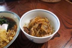 川島けん 公式ブログ/[Lunch]わかめたぬきうどんと小豚丼 画像3