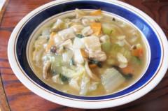 川島けん 公式ブログ/[Lunch]野菜あんかけ中華そば. 画像1