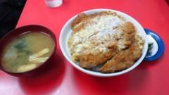 川島けん 公式ブログ/[Lunch]カツ丼って最強だと思う。 画像1