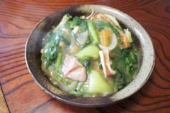 川島けん 公式ブログ/[Lunch]野菜とイカ餡かけ丼 画像1