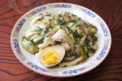 川島けん 公式ブログ/[Lunch]餡かけ野菜ごはん 画像1