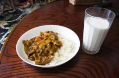 川島けん 公式ブログ/[Lunch]カレーライス牛乳付 画像1