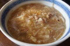 川島けん 公式ブログ/【Lunch】餡かけラーメン(勿論、自家製) 画像1