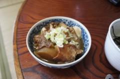 川島けん 公式ブログ/[Lunch]山ワサビ丼と鶏皮煮込み。 画像3