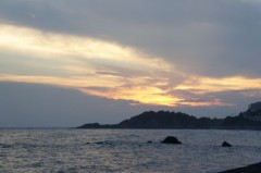 川島けん 公式ブログ/【夕焼けハンター】ぎょ!た、体重がまた1kg減った。 画像1