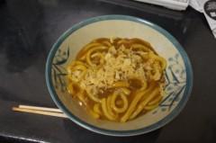 川島けん 公式ブログ/[夜食]カレーうどん揚げ玉のせ。 画像1