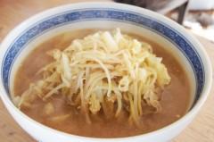 川島けん 公式ブログ/【ランチ】鳥ひき肉野菜たっぷりショウガ入味噌ラーメン 画像1