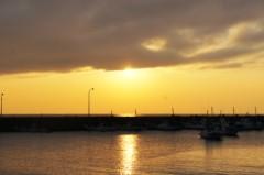 川島けん 公式ブログ/【夕焼けハンター】今日は久留和海岸で夕焼けですた。 画像1