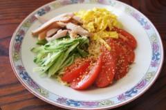 川島けん 公式ブログ/[Lunch]冷やし中華 画像1