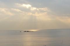 川島けん 公式ブログ/[夕焼けハンター]コンビニに行った帰りです。 画像1