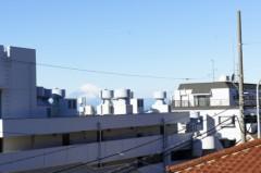 川島けん 公式ブログ/窓から富士山 画像1