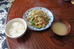 川島けん 公式ブログ/[Lunch]餡かけ野菜炒め 画像1