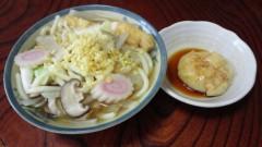 川島けん 公式ブログ/[Lunch]煮込みうどん+餅 画像2