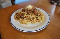 川島けん 公式ブログ/[Lunch]美味しいミートソースパスタ屋さんのミートソースパスタ。 画像1