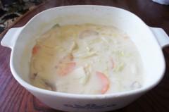 川島けん 公式ブログ/[Lunch]チキン白菜シチュー 画像2