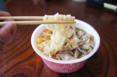 川島けん 公式ブログ/[Lunch]赤いきつね。 画像3