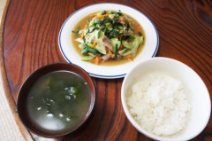 川島けん 公式ブログ/[Lunch]野菜炒め 画像1