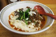 川島けん 公式ブログ/辛いけど美味しくて手が止まらなかった四川担々麺。 画像1