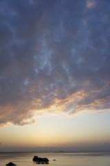 川島けん 公式ブログ/間に合った夕焼け 画像2