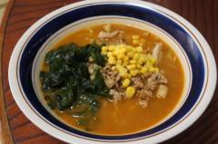 川島けん 公式ブログ/[Lunch]辛肉味噌ラーメン。 画像1