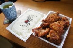 川島けん 公式ブログ/[Lunch]唐揚げ弁当 画像2