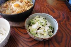 川島けん 公式ブログ/[Lunch]味噌煮込みうどんと白菜漬け 画像3