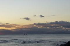 川島けん 公式ブログ/雲がきれいな夕焼けでした 画像1