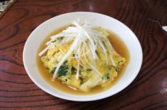 川島けん 公式ブログ/[Lunch]ニラカニ玉丼 画像1