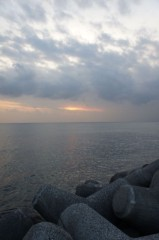 川島けん 公式ブログ/【Life@空と雲】本日の夕焼け 画像1