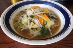 川島けん 公式ブログ/[Lunch]野菜ラーメン 画像1