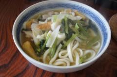 川島けん 公式ブログ/[Lunch]野菜煮込みうどん 画像1