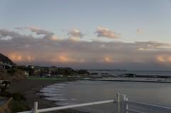 川島けん 公式ブログ/雲がきれいな夕焼けでした 画像3