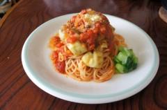 川島けん 公式ブログ/[Lunch]茄子とツナトマ 画像1