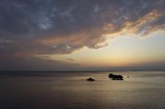 川島けん 公式ブログ/間に合った夕焼け 画像1