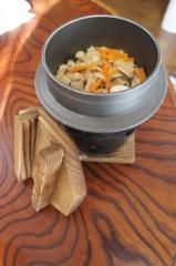 川島けん 公式ブログ/[Lunch]釜飯 画像1