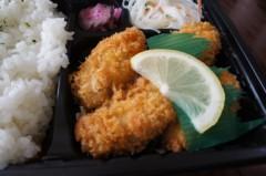川島けん 公式ブログ/[Lunch]カキフライ弁当 画像2