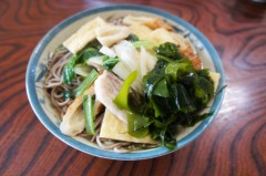 川島けん 公式ブログ/[Lunch]田舎風そば、牛赤味噌焼丼 画像3