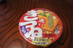 川島けん 公式ブログ/[Lunch]赤いきつね。 画像1