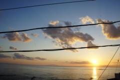 川島けん 公式ブログ/[夕焼けハンター]リビングからの眺め。 画像3