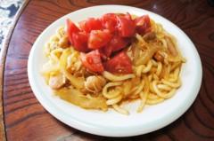川島けん 公式ブログ/[Lunch]イタリアン焼きうどん 画像1