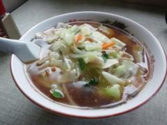 川島けん 公式ブログ/[Lunch]山海亭 サンマー麺 画像1