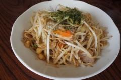 川島けん 公式ブログ/[Lunch]塩やきそば。 画像1