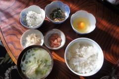川島けん 公式ブログ/[Lunch]具だくさん味噌汁とご飯。 画像1