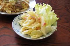 川島けん 公式ブログ/[Lunch]ソース焼きそばとマカロニサラダ 画像2