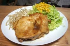 川島けん 公式ブログ/[Lunch]照り焼きチキン 画像1