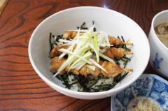 川島けん 公式ブログ/[Lunch]焼き鳥丼と小かけそば。 画像2